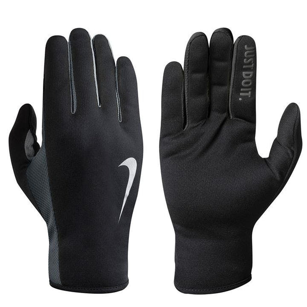 Nike Womens Rally Run Gloves 2.0 - Blk/Anth/Silv