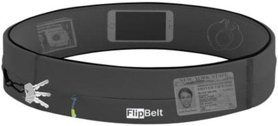 Flip Belt Zipper - Carbon