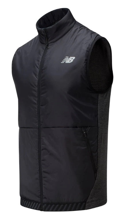 New Balance M Heatgrid Vest - Black Grey