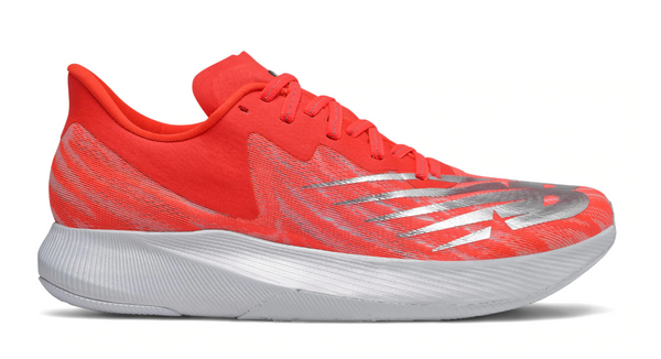New Balance M FuelCell TC EnergyStreak - Neo Flame with Light Aluminum & White