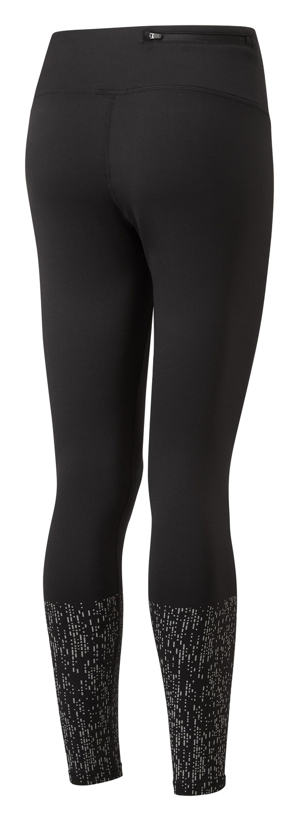 RonHill W Life Nightrunner Tight - Black/Reflect