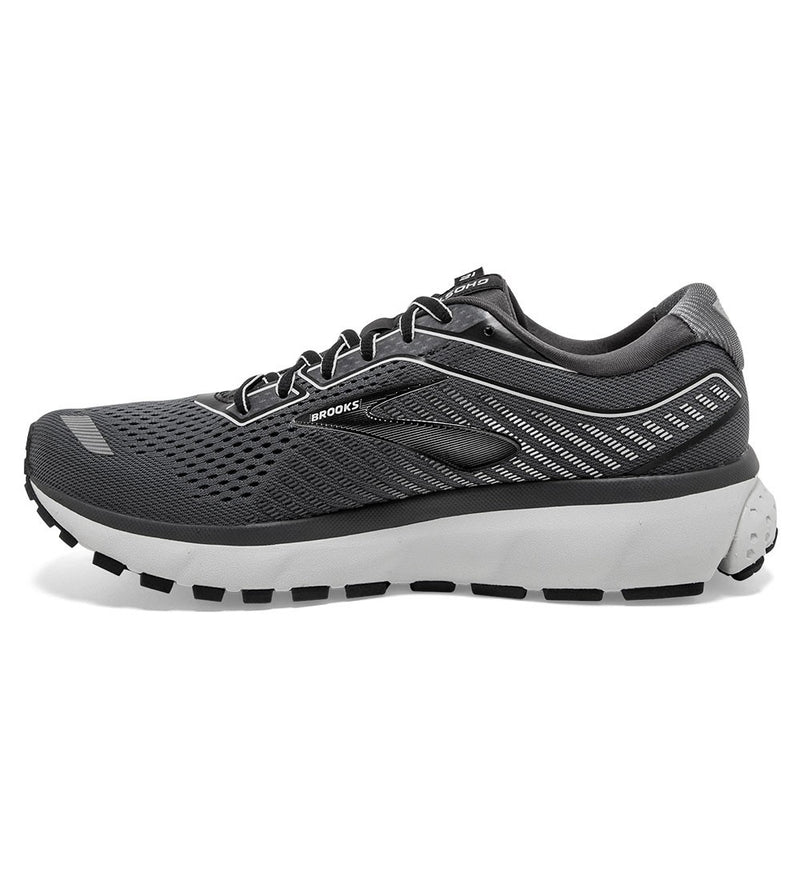 Brooks M Ghost 12 - Black/ Pearl/ Oyster