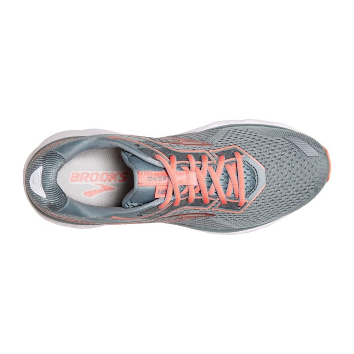 Brooks W Ghost 12 - Lead/ Grey/ Desert