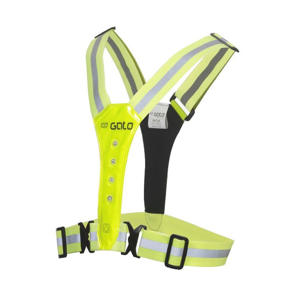 Gato LED Vest USB - Neon Yellow