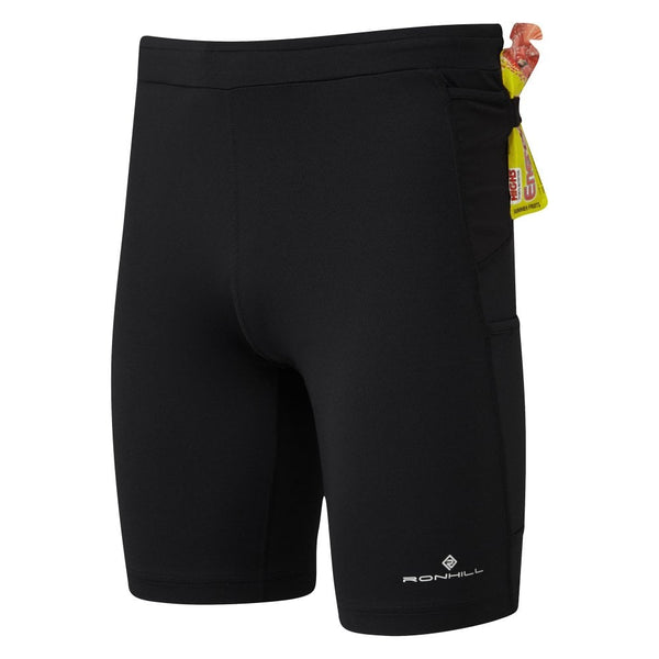 RonHill M Infinity Marathon Short - All Black