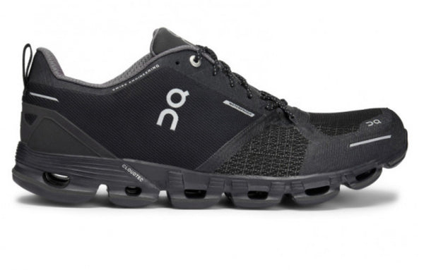 ON M Cloudflyer Waterproof - Black/Lunar