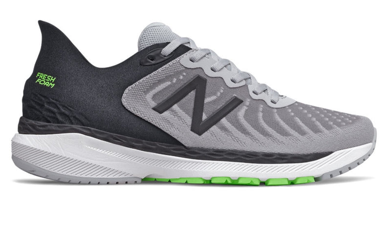 New Balance M 860v11 | Wide - Light Aluminum with Black