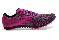 Brooks Womens Mach 19 - Black Hollyhock/Pink