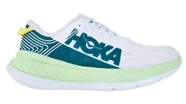 Hoka M Carbon X - Green Ash/White