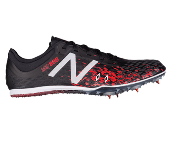 New Balance Mens MD800 Spike - Black/Flame