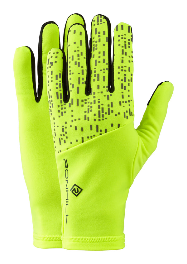 RonHill Nightrunner Glove - Fluo/Reflect