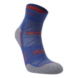 Hilly M Supreme Socklet - Denim/Grey Marl