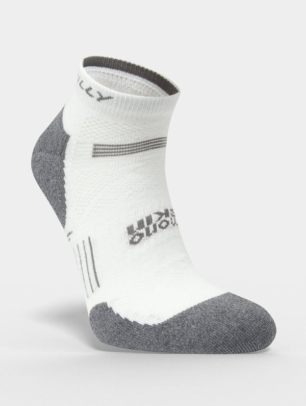 Hilly Supreme Quarter - White/Grey Marl