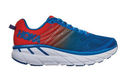 Hoka M Clifton 6 - Manderin Red/Imperial Blue