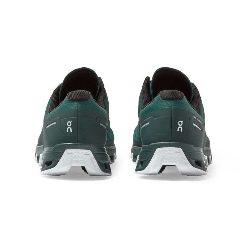 ON M Cloudventure -Evergreen/White