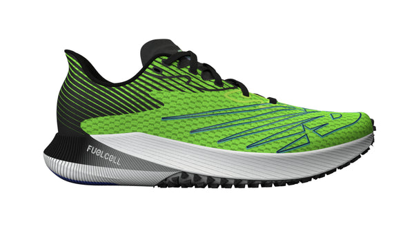 New Balance M FuelCell RC Elite - Energy Lime/Cobalt Blue