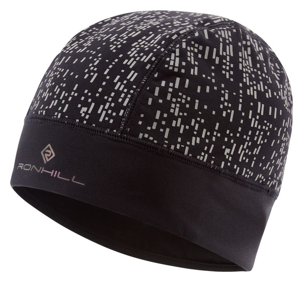 RonHill Nightrunner Beanie - Black/Reflect