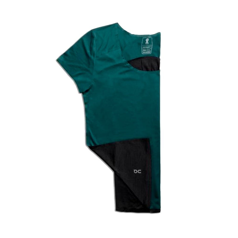 ON W Performance T-shirt - Evergreen/Black