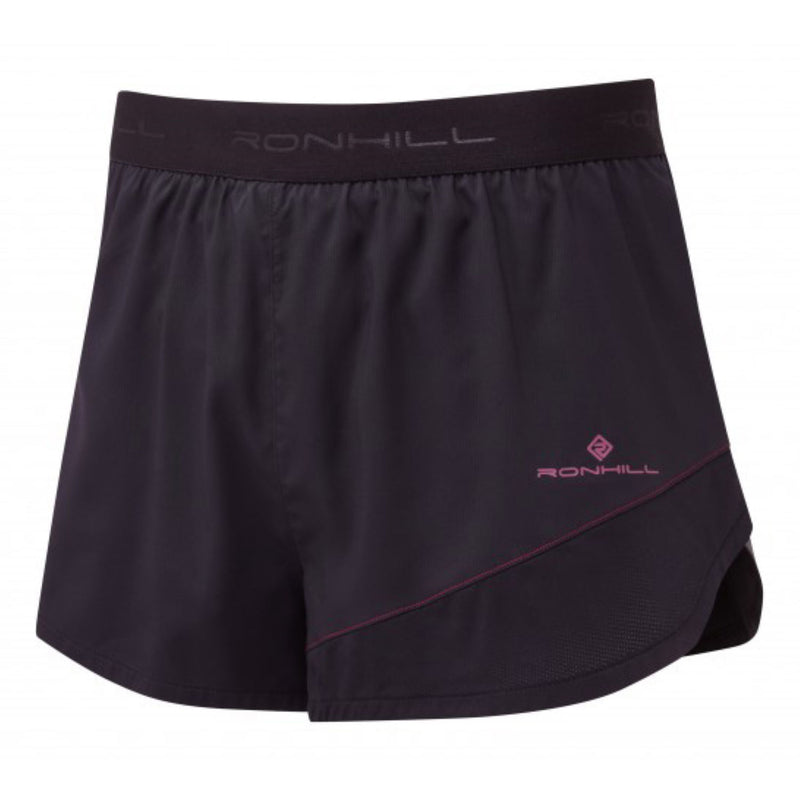 Ronhill M Stride Revive Racer Short - Black/ Mulberry