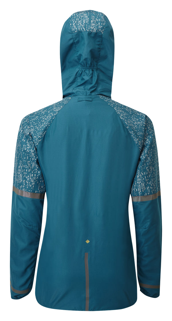 RonHill W Life Nightrunner Jacket -Legion Blue/Reflect