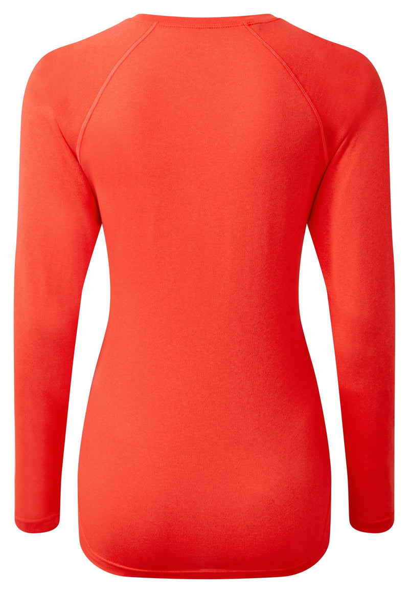 RonHill W Core Long Sleeve Top - Hot Coral