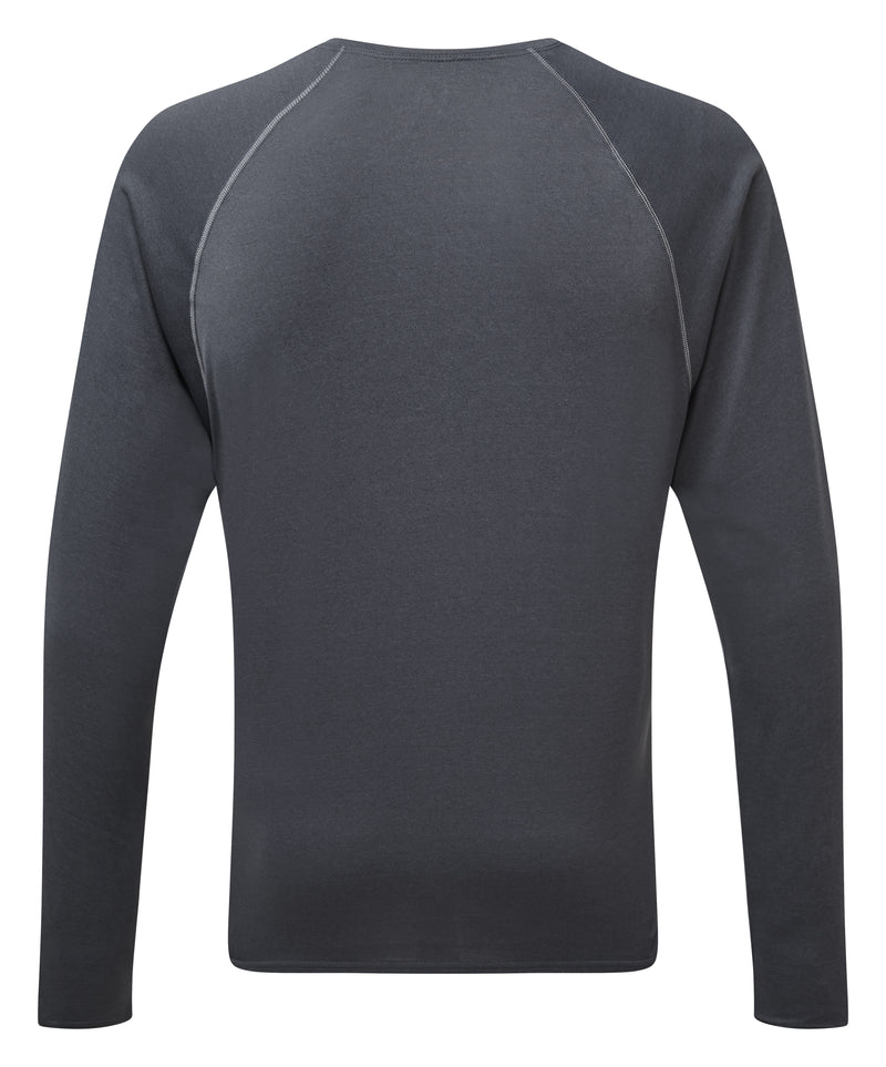 RonHill M Core - Long Sleeve Top - Charcoal Marl