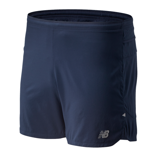 "New Balance M Impact Run 5"" Shorts - Eclipse"