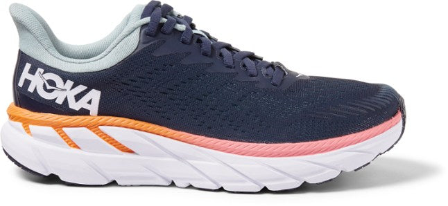 Hoka W Clifton 7 - Black Iris/Blue Haze