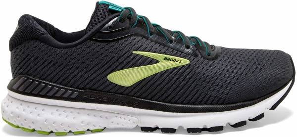 Brooks M Adrenaline GTS 20 - Black/Lime/Blue Grass