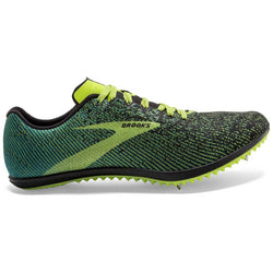 Brooks Mens Mach 19 - Black Shoots/Blue Grass