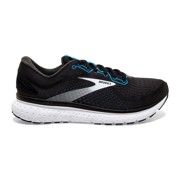 Brooks M Glycerin 18 - Black/Atomic Blue/White