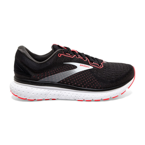 Brooks W Glycerin 18 - Black/Coral/White
