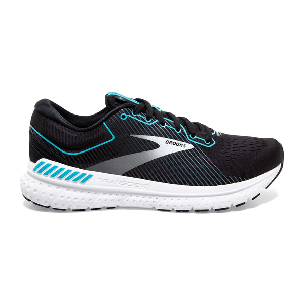 Brooks W Transcend 7 - Black/Ebony/Blue Bird
