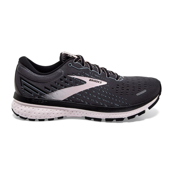 Brooks W Ghost 13 | Wide - Black/Pearl/Hushed Violet