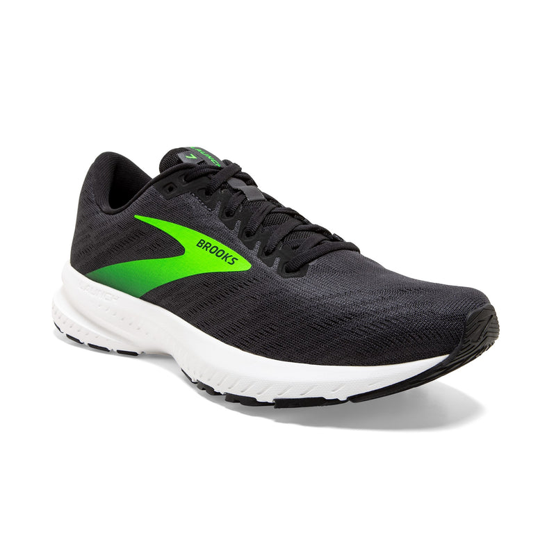 Brooks M Launch 7 - Ebony/Black/Gecko