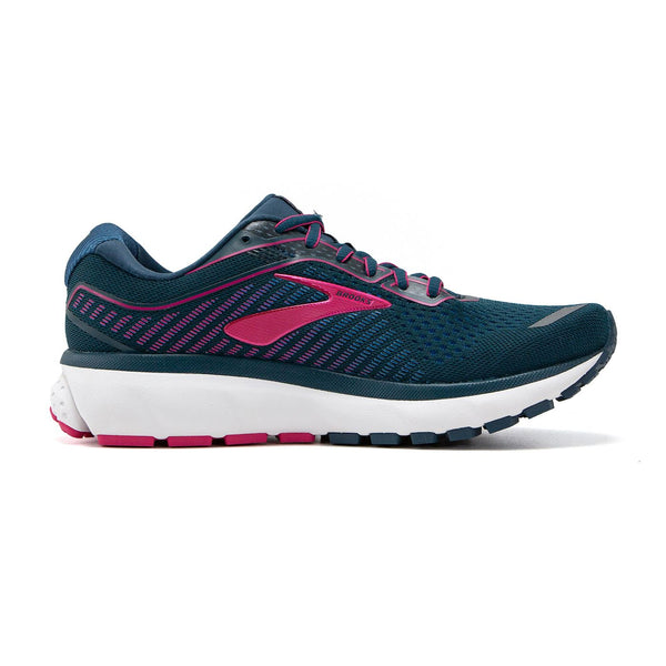 Brooks W Ghost 12 - Blue/Beetroot