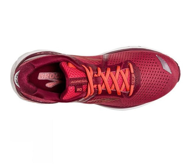Brooks W Adrenaline GTS 20 - Rumba Red/Teaberry/Coral