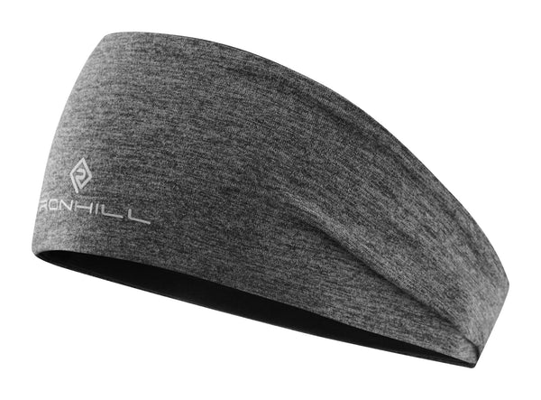 RonHill Reversible Contour Headband - Grey Marl/Black