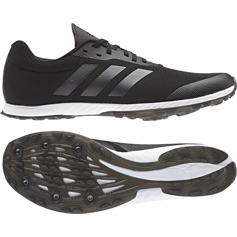 Adidas Mens XCS Cross Country Spikes - Core Black