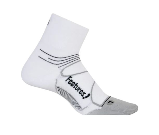 Feetures Elite Max Cushion Quarter - White