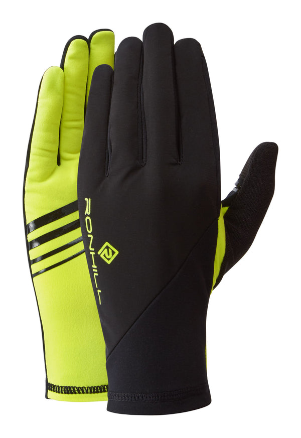 RonHill Wind-Block Glove - Black/Fluo Yellow