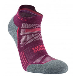 Hilly W Supreme Socklet - Elderberry/ Grey Marl