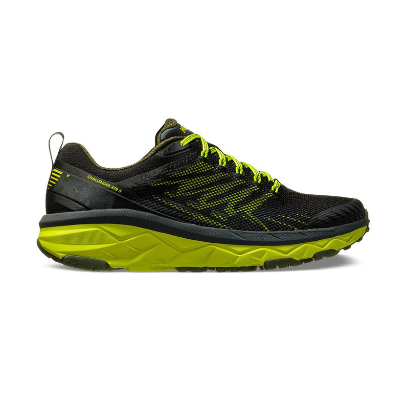Hoka Mens Challenger ATR 5 Wide - Ebony/Black