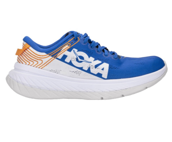 Hoka Mens Carbon X - Blue/White
