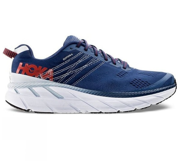 Hoka M Clifton 6 - Ensign Blue/Plein Air