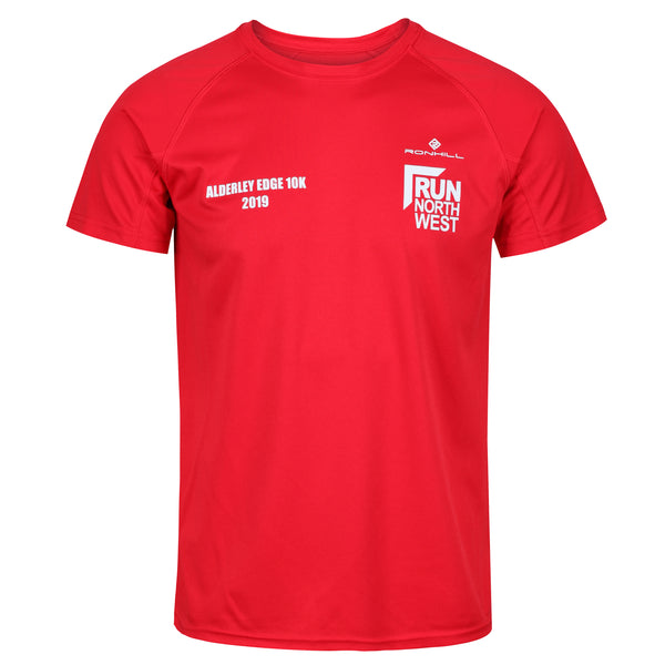 Alderley Edge bypass 10K T-Shirt 2019 - Red