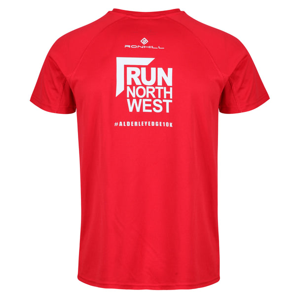 Run North West Alderley Edge 10k T-Shirt 2019 - Red