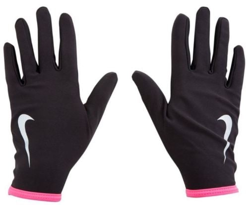Nike W Therma Lightweight Gloves - black/pink
