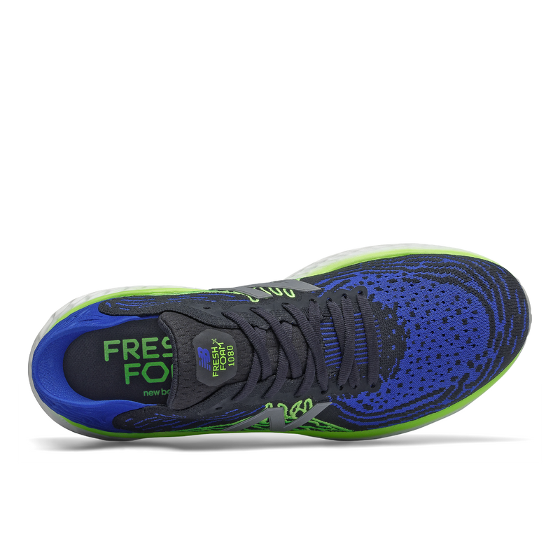 New Balance M 1080v10 - Team Royal with Energy Lime