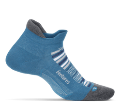 Feetures Elite Max Cushion No Show - Maui Blue